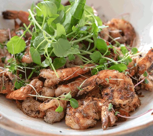 Salt & pepper king prawn